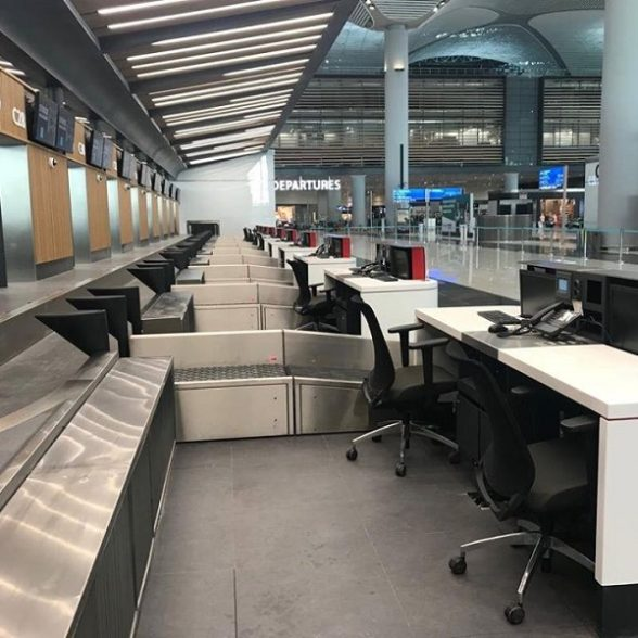 Istanbul Airport Check in Desks