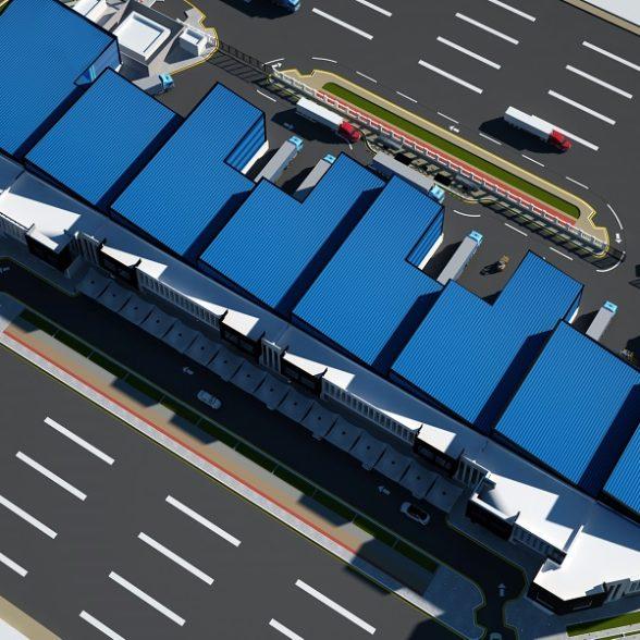 Logistics Units At Ras Bufontas In Qatar