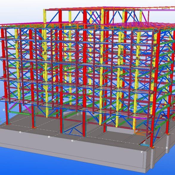 Çerkezköy Steel Car Park Project