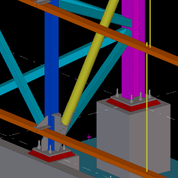 Metal Yapı Russia Factory Structural Design