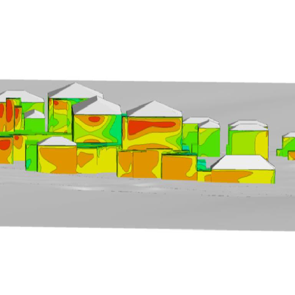 Wind Analysis with One & Only Hotel & Resort CFD Method