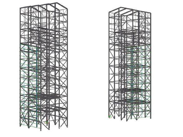 İSKEN Termik Santrali Transfer Kulesi